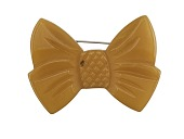 view Amber Bakelite Brooch digital asset number 1