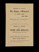 view Auction Catalog, New York, United States, 1862 digital asset number 1