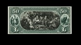 view 50 Dollars, Proof, National Bank Note, United States, 1892 digital asset number 1