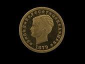 view 4 Dollars, Pattern, United States, 1879 digital asset number 1