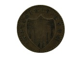 view 1 Cent, New Jersey, Colonial America, 1786 digital asset number 1