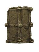 view Shield, Akan Gold Weight, Ghana, 19th century digital asset number 1