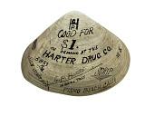 view 1 Dollar Clam Shell, Harter Drug Co., United States, 1933 digital asset number 1