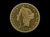 view 20 Dollars, Pattern, United States, 1879 digital asset number 1