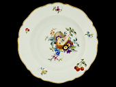 view Meissen soup plate: one of a pair digital asset number 1