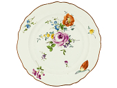 view Meissen plate: one of a pair digital asset number 1