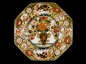 view Meissen octagonal plate digital asset number 1