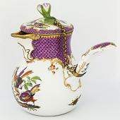 view Meissen chocolate pot digital asset number 1