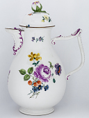 view Meissen coffee pot and cover digital asset number 1