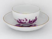 view Meissen cup and saucer (part of a service) digital asset number 1
