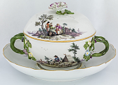 view Meissen covered bowl and stand digital asset number 1