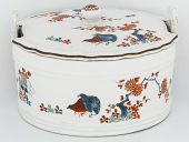 view Meissen butter dish and cover digital asset number 1