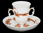 view Meissen chocolate cup and saucer digital asset number 1