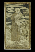 view Hide Painting of St. Anthony, c. Early 1700s digital asset number 1