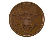view Diplomatic Medal, United States, 1876 (U.S. Mint copy dies) digital asset number 1