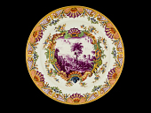 view Meissen plate (Hausmaler) digital asset number 1