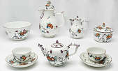 view Meissen coffee pot and cover (part of a service) digital asset number 1
