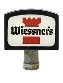 """view Beer Tap Knob, """"Wiessner's"""" digital asset number 1"""