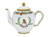 view French Revolutionary Teapot digital asset: Sevres teapot and cover with liberty cap and triangle emblem, 1795