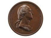 view George Washington Before Boston, France, 1790 (Paris Mint) digital asset: George Washington before Boston, 1790, obverse