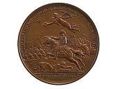 view William Washington at the Cowpens, France, 1781 (Paris Mint, original dies) digital asset: William Washington at the Cowpens, 1781, obverse