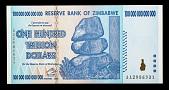 view 100,000,000,000,000 Dollars, Zimbabwe, 2008 digital asset number 1