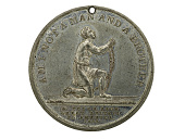 view Anti-slavery Medal, Great Britain, 1834 digital asset number 1