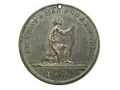 view Anti-slavery Medal, Great Britain, 1834 digital asset number 1