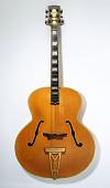 view Irving Ashby's Stromberg Guitar digital asset: Stromberg guitar, front view