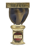 view 40th Anniversary International Ladies Garment Workers Union Convention Badge, 1940 digital asset number 1