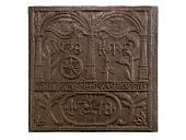view German Ornamental Stove Plate, c. Mid-sixteenth Century digital asset number 1
