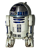 view R2-D2, from <i>Return of the Jedi</i> digital asset: R2-D2 droid costume featured in the movie &apos;Star Wars Episode VI: Return of the Jedi&apos;. Copyright Lucasfilm Ltd. All Rights Reserved.