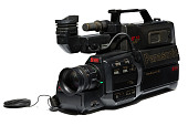 """view Video camera used to record the first winning entry of """"America's Funniest Home Videos"""" digital asset number 1"""