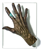 view Bronze Mold of Phyllis Diller's Hand digital asset: Bronze mold of Phyllis Diller's right hand