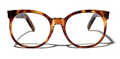 view Clark Kent's Eyeglasses in <i>Superman IV: The Quest for Peace</i> digital asset: Eyeglasses worn by Christopher Reeve