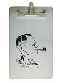 view George Sidney clipboard digital asset: Clipboard used by George Sidney