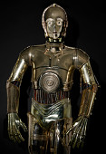 view C-3PO, from <i>Return of the Jedi</i> digital asset: C-3PO droid costume featured in the movie &apos;Star Wars Episode VI: Return of the Jedi&apos;. Copyright Lucasfilm Ltd. All Rights Reserved.