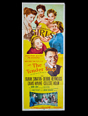 view <i>The Tender Trap</i> movie poster digital asset: Poster, Tender Trap