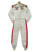 view Auto Racing Suit worn by Janet Guthrie in the Indianapolis 500, 1978 digital asset number 1