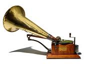 view Gramophone digital asset: Berliner Gramophone, 1898
