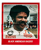 view Black American Racers poster featuring BAR's Formula Super Vee driver, Benny Scott digital asset number 1