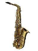 view Selmer Alto Saxophone, used by Willie Smith digital asset: Alto Saxophone