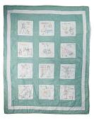 view 1935 - 1945 Mary Louisa Matthews' Child's Quilt digital asset number 1