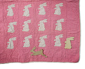 "view 1943 - 1944 Templates for ""Bunny Carriage Quilt"" digital asset number 1"