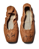 view Pancaked ballet shoes worn by Misty Copeland in January 2018 digital asset number 1