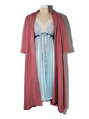 view Pink coat worn by Rachel Brosnahan in <i>The Marvelous Mrs. Maisel</i> digital asset: Costume worn by Rachel Brosnahan in The Marvelous Mrs. Maisel