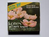 view Kotex Security Tampons digital asset number 1