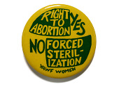 view Women's Rights Button, 1977 digital asset number 1