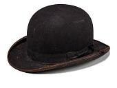 view Derby hat worn as part of blackface minstrel costume digital asset number 1