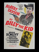 view <i>Billy the Kid</i> Movie Poster digital asset: Billy the Kid movie poster